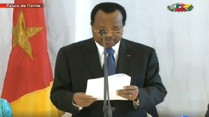 C'est à cause des caisses vides de l'état que Paul Biya ne se serait pas encore adressé au peuple