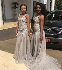 Amanda Njong and sister