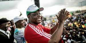 Maurice Kamto lors de sa campagne présidentielle de 2018