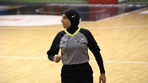 Sara Gamal, l'arbitre en hijab