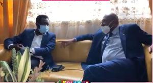 Seidou Mbombo Njoya et Véron Mosengo-Omba