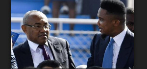 Samuel Eto'o est le Conseiller du président de la CAF Ahmad Ahmad