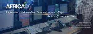 Une bannière de Africa 24