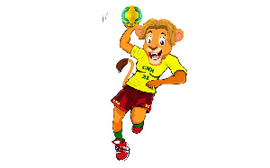 Mascotte CAN Handball