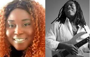 Laila Mbombo et Richard Bona