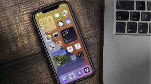 Un téléphone iphone