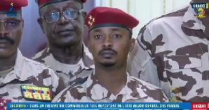 Mahamat Idriss Deby Itno, nouveau président du Tchad