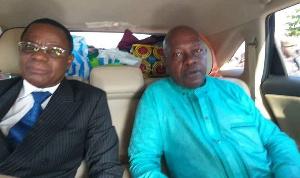 Maurice Kamto et Christian Penda Ekoka