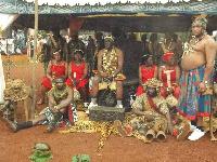 Fo'o Sokoudjou Mpoda, roi des Bamendjou