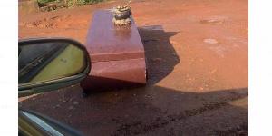 L'un des cercueils