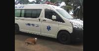 C'est une ambulance médicalisée avec assistance en oxygène