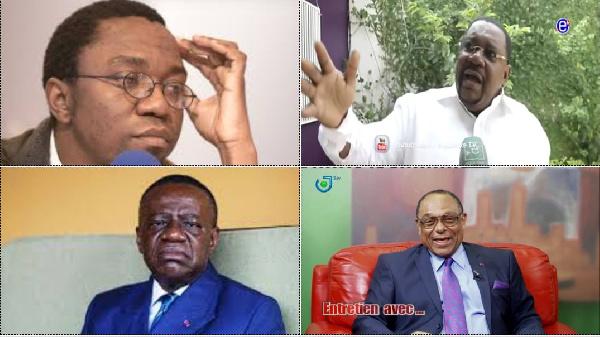 Patrick Nganang, Paul Eric Kingué, Fame Ndongo et Gregoire Owona