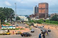 Vue sur la ville de Yaoundé