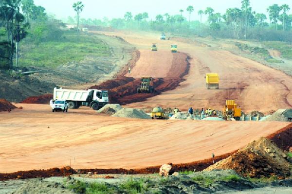 Un réseau routier en chantier