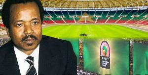 Paul Biya et les sportifs en 1982