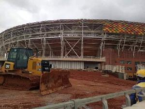Chantier Stade Olembe 1 2021