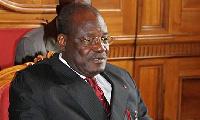Cavaye Yeguié, le président sortant de l'Assemblée nationale