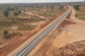 Une ligne de chemin de fer