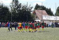 L'équipe camerounaise