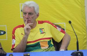 Hugo Broos a gagné la CAN 2017 avec le Cameroun
