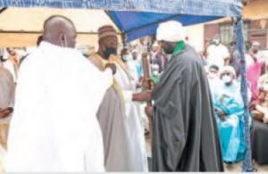L'imam Moustapha dans ses nouveaux attributs