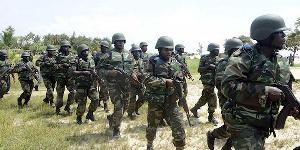 Les militaires du BIR