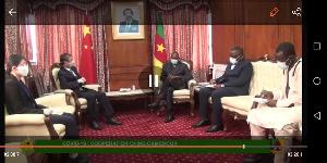 Le ministre Malachie Manaouda a échangé pendant une trentaine de minutes avec son invité