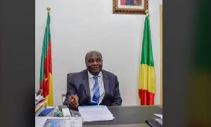 Komidor Njimoluh, l'ancien ambassadeur du Cameroun à Brazzaville