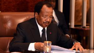 Paul Biya, le président camerounais