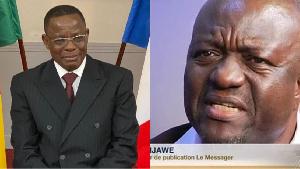Maurice Kamto et Pius Njawe