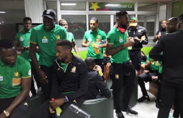 Des joueurs camerounais