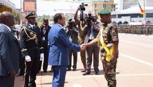 Le Général Ezo'o Mvondo doit au contre-amiral Nsola son recrutement à l'EMIA