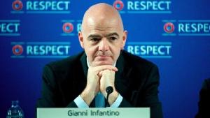 Gianni Infantino , président de la FIFA