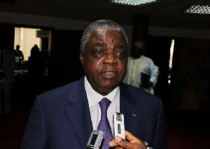 Rene Sadi, ministre de la communication du Cameroun