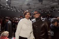 Le couple Eto'o au défilé Louis Vuitton