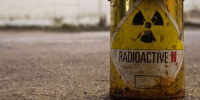 Une substance radioactive
