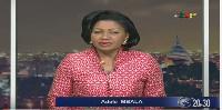 Présentatrice vedette du JT de 20h 30 de la CRTV, Adèle Mbala