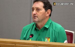 Antonio Conceicao, sélectionneur des Lions Indomptables