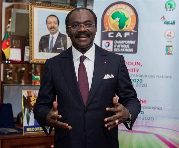 Mouelle Kombi, ministre des sports