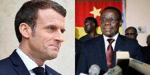Macron et Maurice Kamto