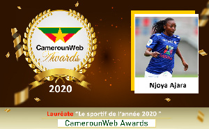 Ajara Nchout Njoya, internationale camerounaise