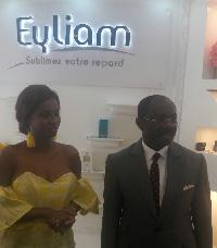 Inauguration de l'institut de beauté EYLIAM le 16 juin 2018 par le MINAC aux côtés de Coco Emilia