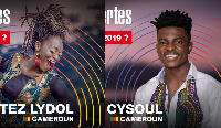 Lydol et Fouda Etoundi Cyril du Cameroun