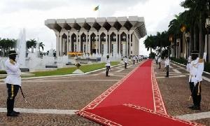 Le palais de la présidence
