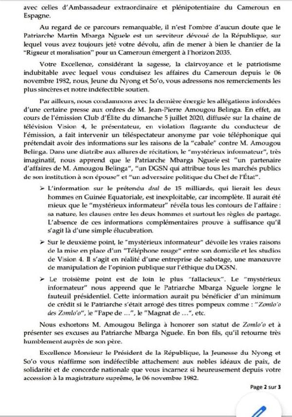 Affaire Amougou