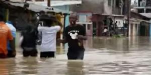 Les inondations plongent les populations de la ville de Douala dans une situation