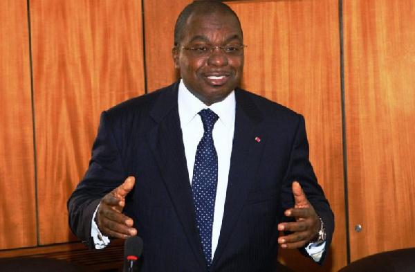 Paul Motazé , le ministre des Finances