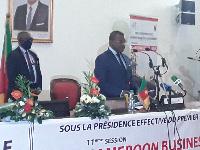 Dion Ngute Pm du Cameroun