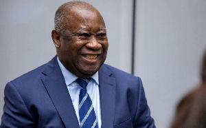 Laurent Gbagbo , ex président de la Cote d'Ivoire