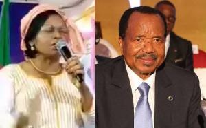 La journaliste Adèle Mballa prédit la mort de Biya